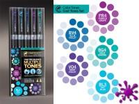 CHAMELEON MARKER SET 5 Pen kalte Farben
