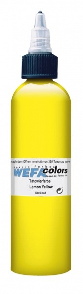 WEFA Colors Lemon Yellow 30 ml