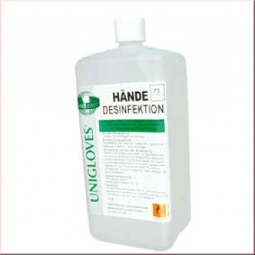 UNICLOVES HÄNDEDESINFEKTION 1 Liter