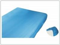 Matrazenüberzieher für Liegen 10 Stk. blau