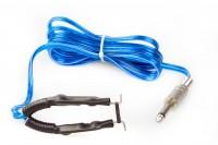 Clip Cord mit mit 6,3 mm Klinkenstecker Blau