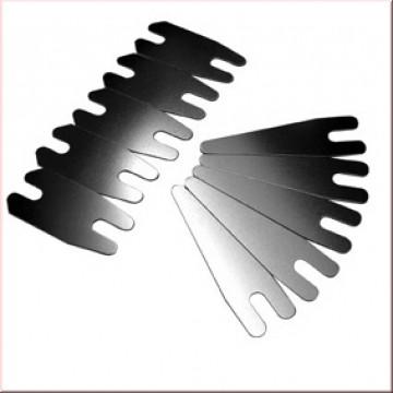 Federblechset 5 vorn und 5 hinten 0,40 mm