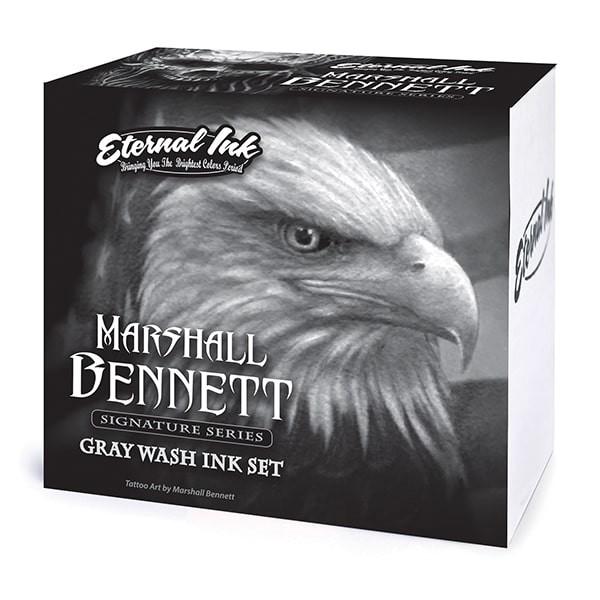 Eternal Ink - Marshall Bennett Gray Wash Signature Series Set - 8 x 30 ml
