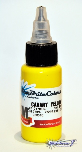 Starbrite 3 - Canary Yellow - 30 ml