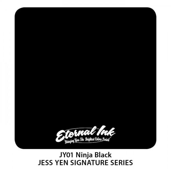 Eternal Ink - Jess Yen - Ninja Black - 60 ml